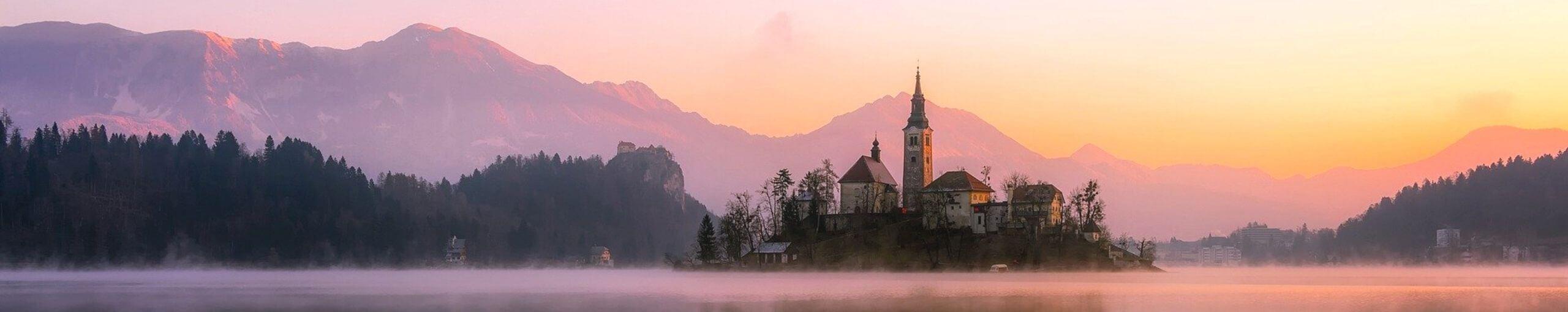 Lago de Bled. Viajar a Eslovenia.