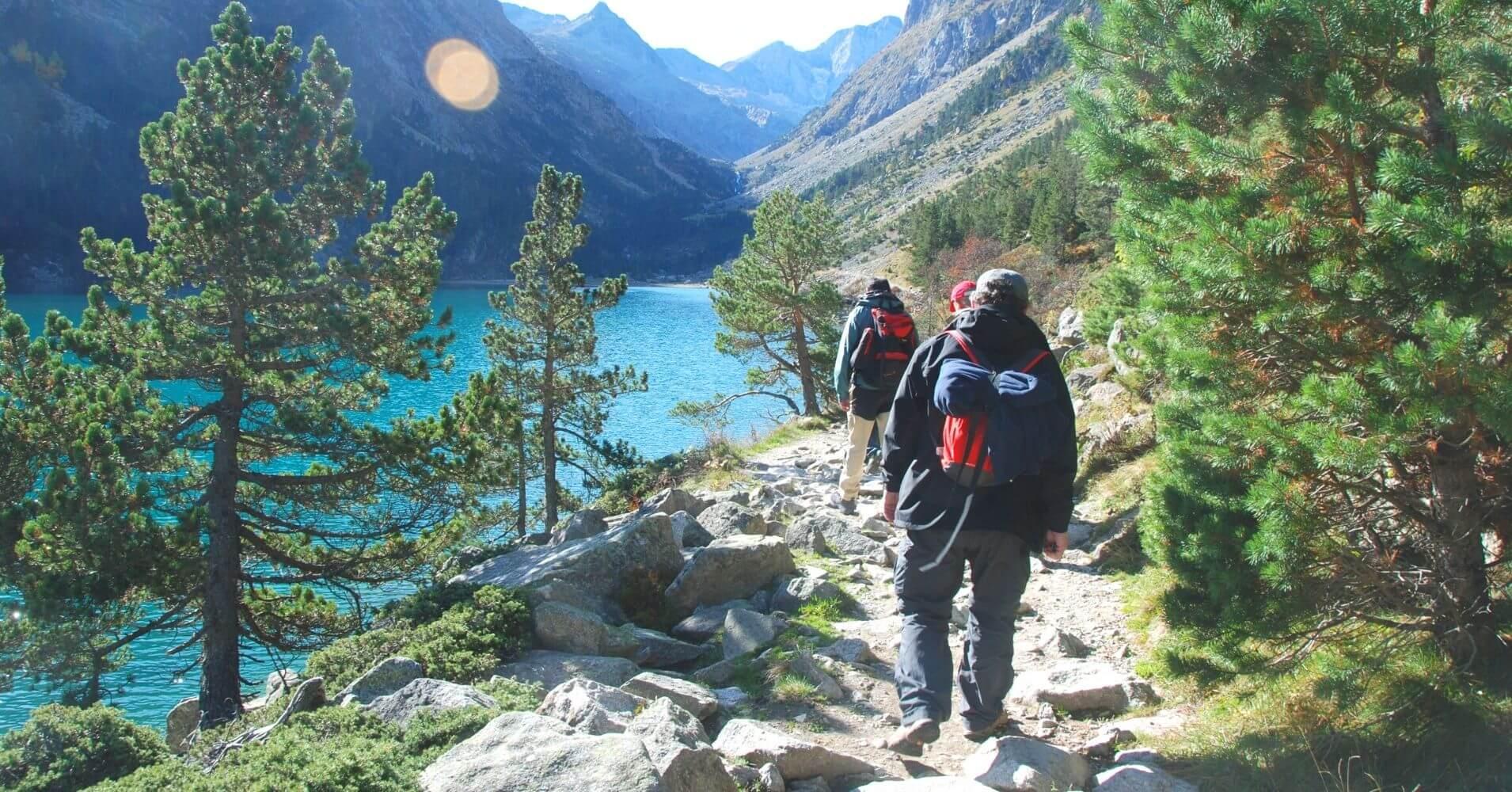 Lago de Gaube. Parque Nacional de los Pirineos. Nueva Aquitania, Occitania. Francia.