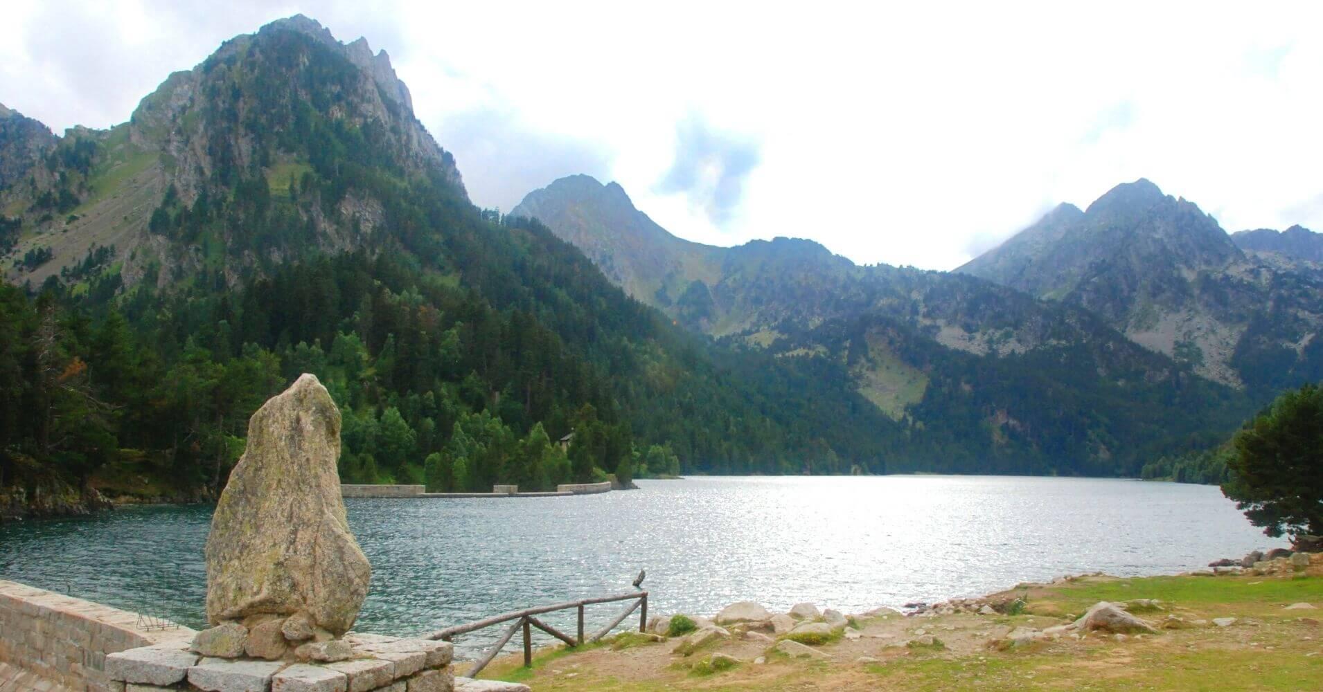 Lago de San Mauricio. Lérida, Cataluña.