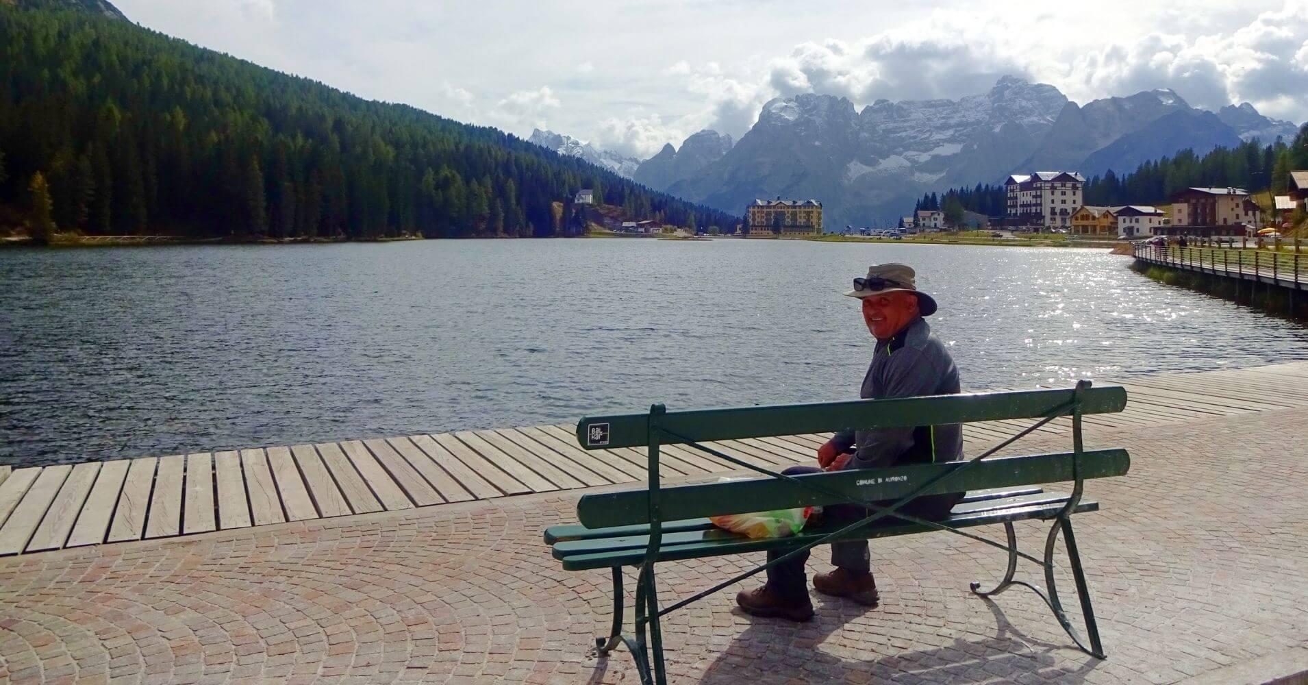 Lago di Misurina. Alpes Dolomitas. Belluno. Véneto. Italia.