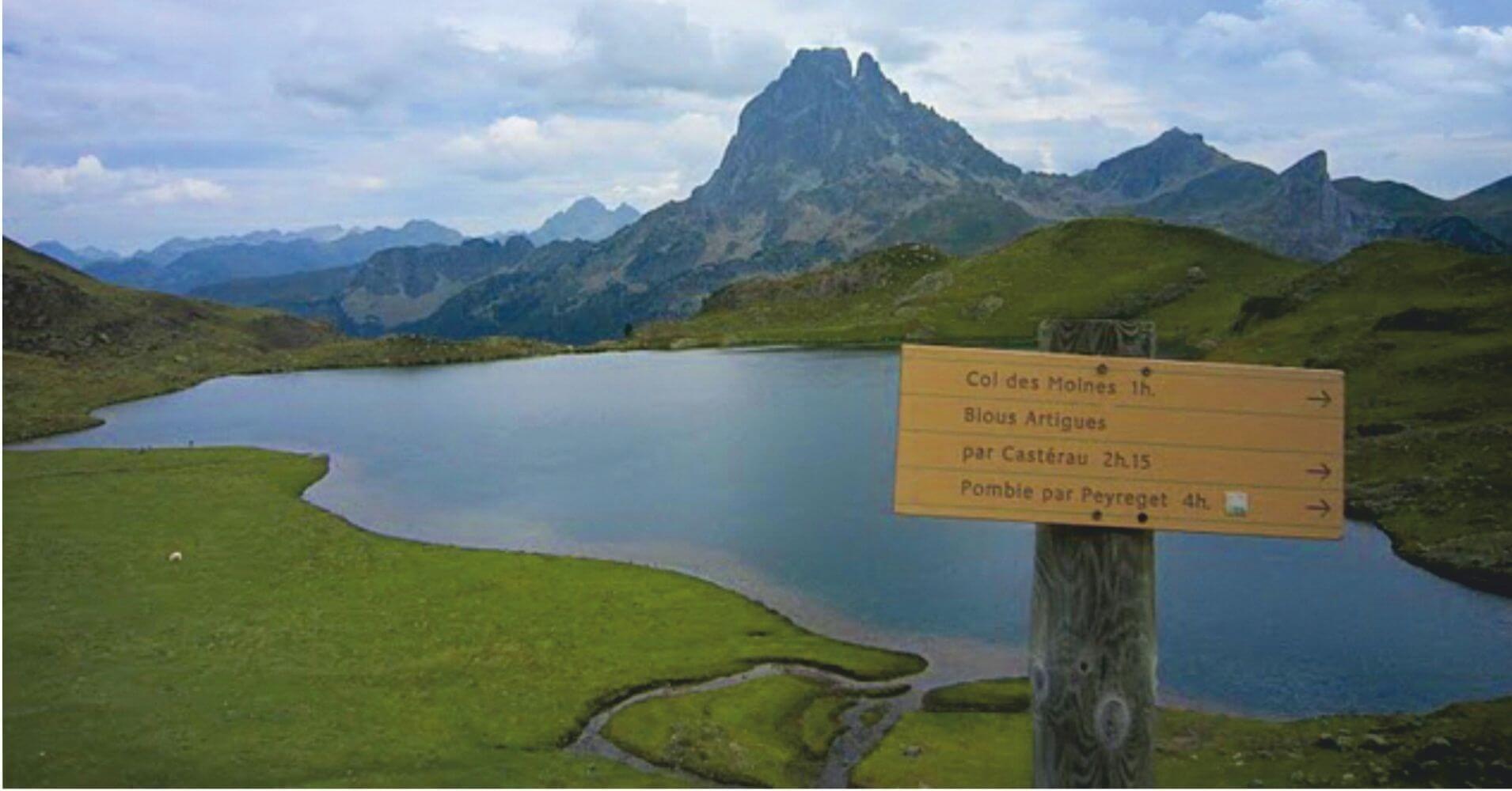 Lagos de Ayous. Lago Bersau y Lago Gentau. Etsaut, Pirineos Atlánticos. Nueva Aquitania en Francia.