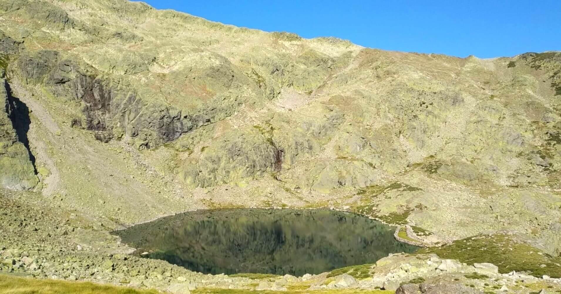 Laguna de la Nava del Barco. Sierra de Gredos. Ávila. Castilla y León.