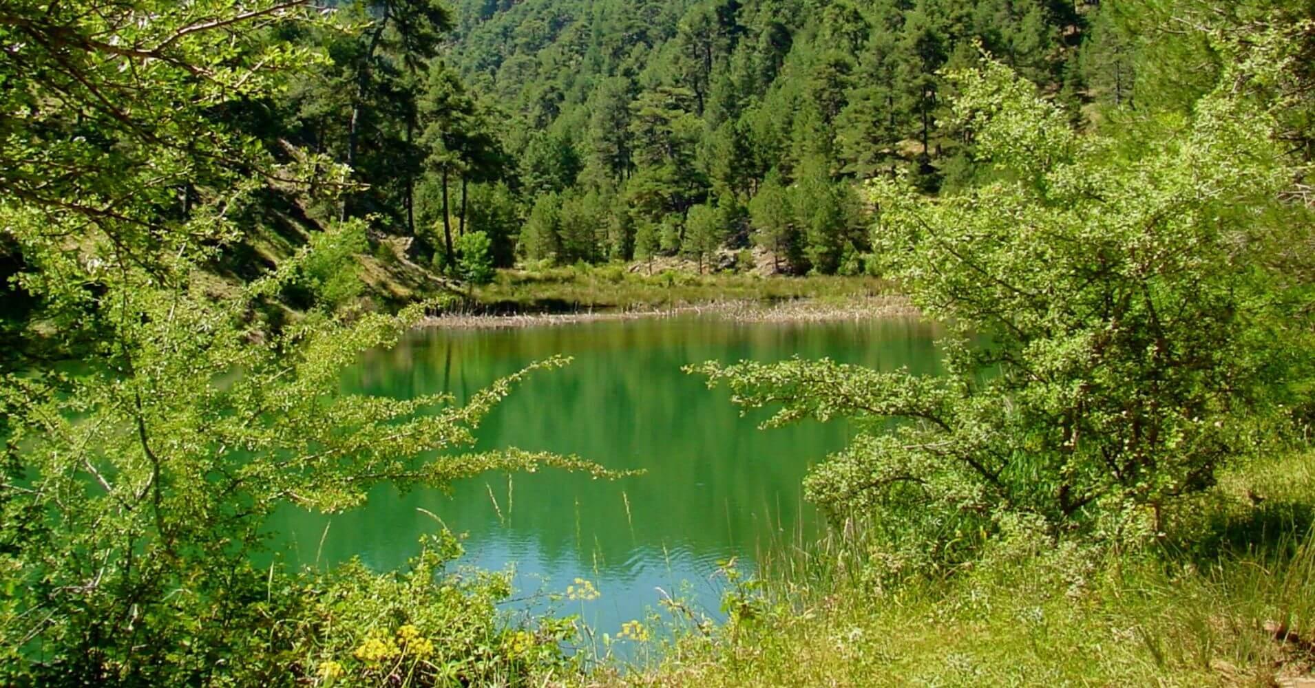 Lagunas de Valdeazores. Parque Natural de Cazorla, Jaén. Andalucía.