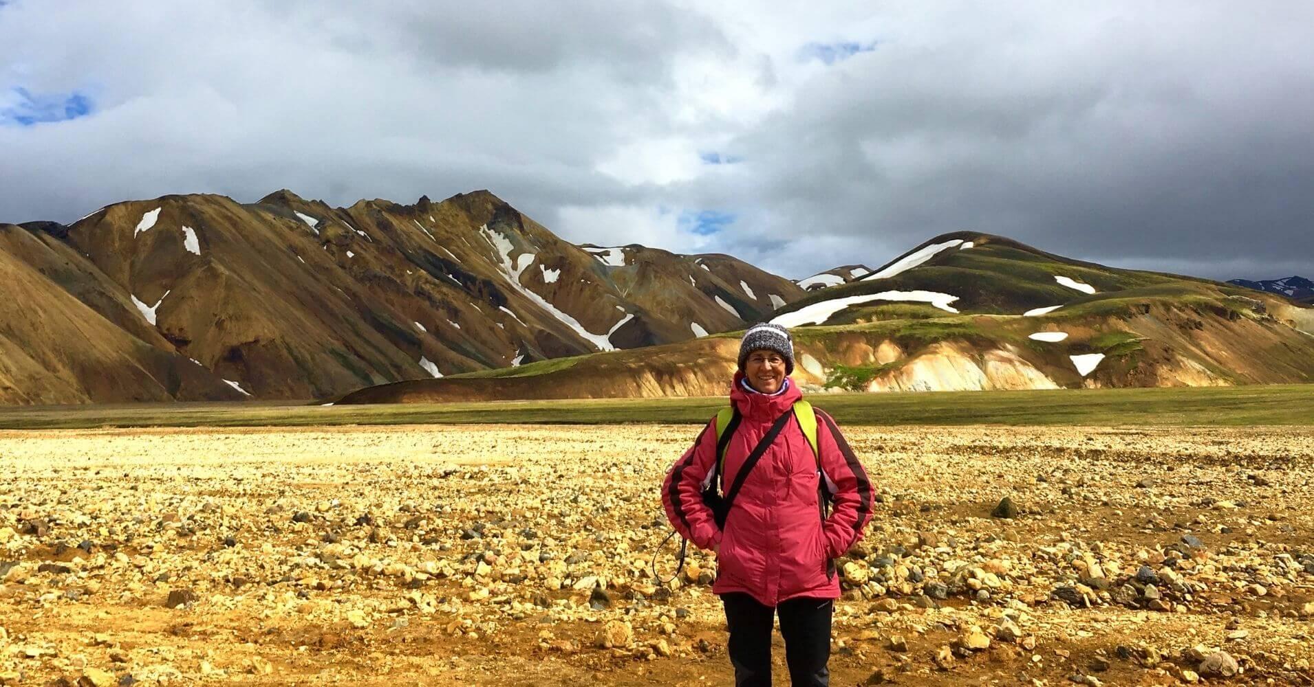 Landmannalaugar las Tierras Altas de Islandia.