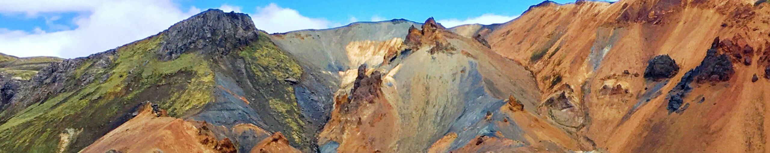 Landmannalaugar Tierras Altas de Islandia.