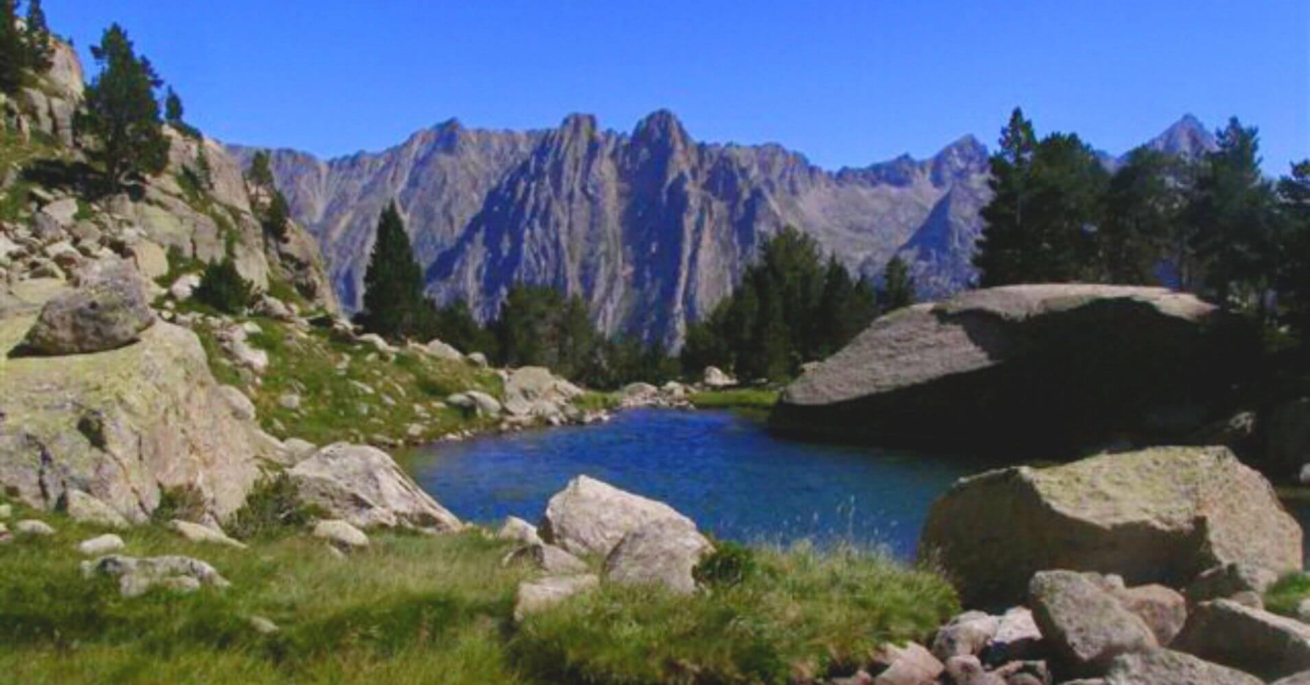 Les Encantats, Parque Nacional de Aigües Tortes y Lago de San Mauricio. Lérida. Cataluña.