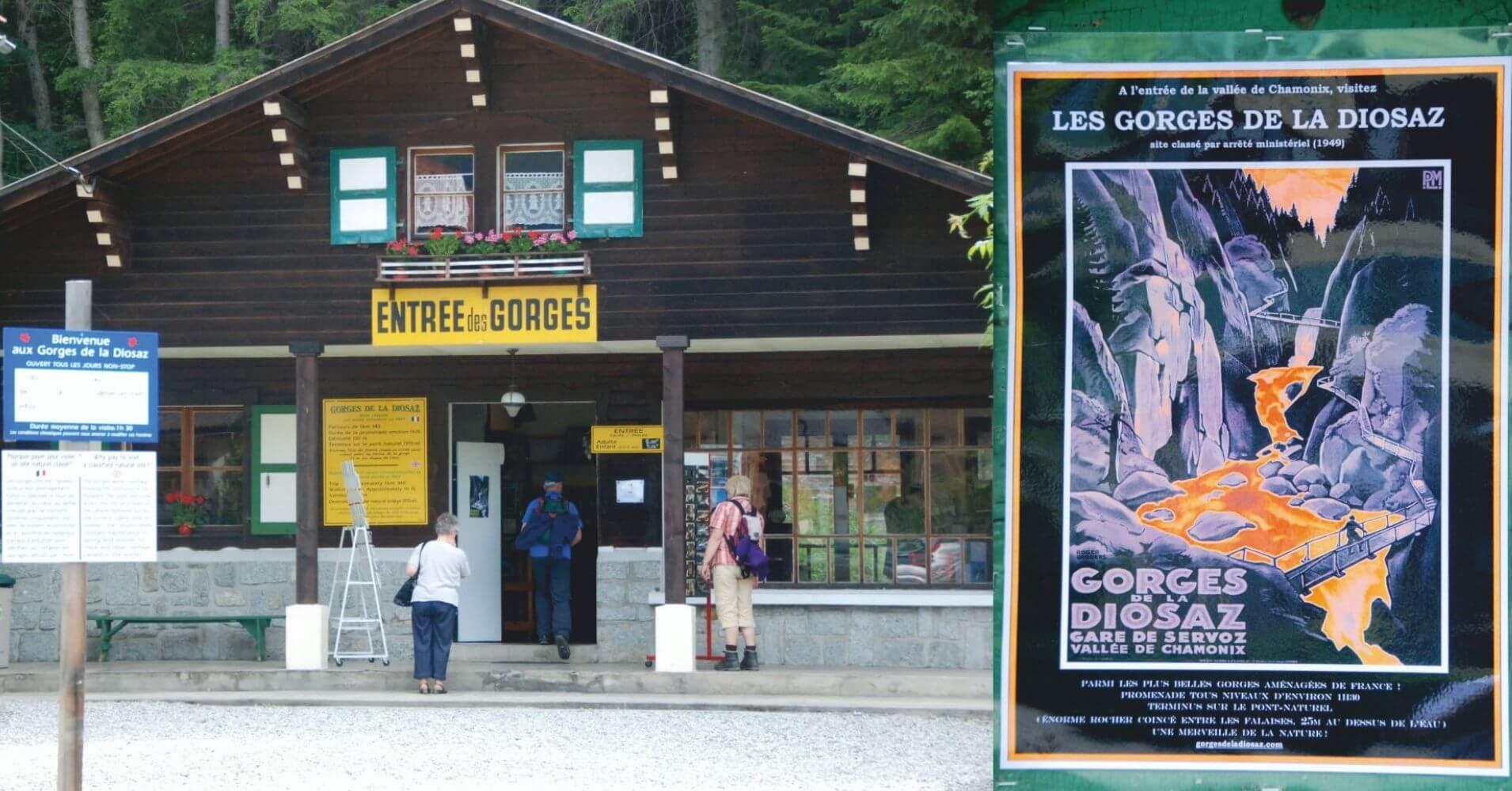 Les Gorges de la Diosaz. Alta Saboya. Auvernia-Ródano-Alpes. Francia.