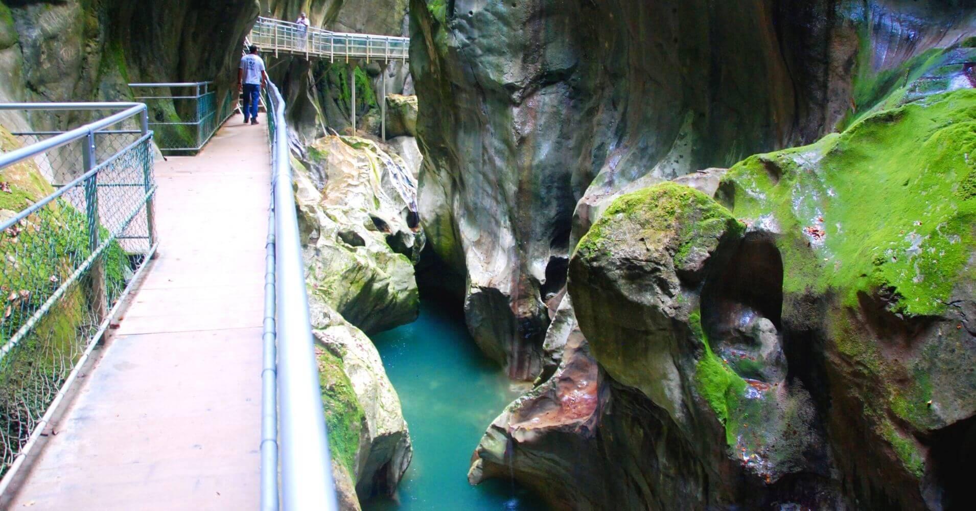 Les Gorges du Pont du Diable. La Vernaz. Alta Saboya. Auvernia-Ródano-Alpes.