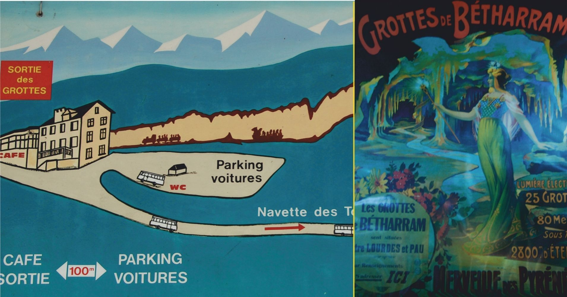 Les Grottes de Bétharram. Nueva Aquitania y Occitania. Pirineos Atlánticos y Altos Pirineos. Francia.