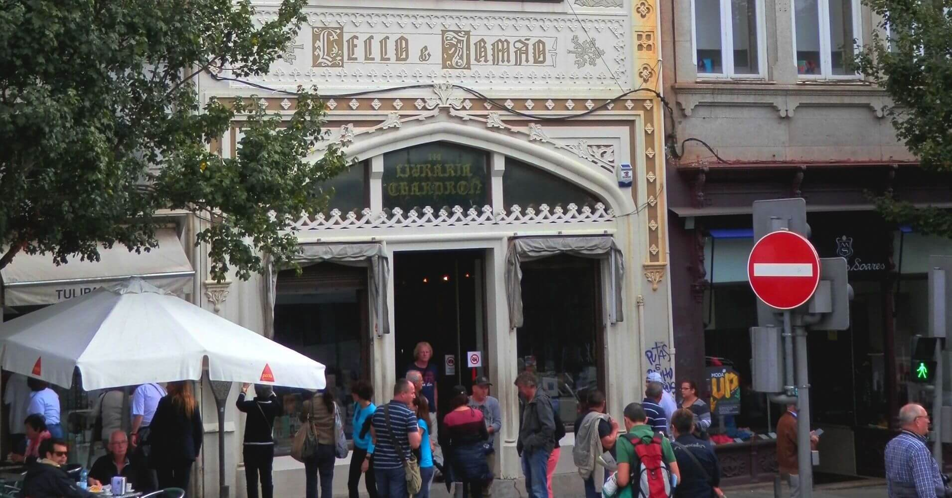 Librería Lello & Irmao. Oporto, Lisboa.