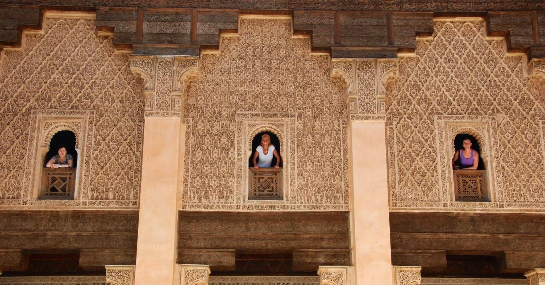 Escuela Coránica en Marrakech, Marruecos.
