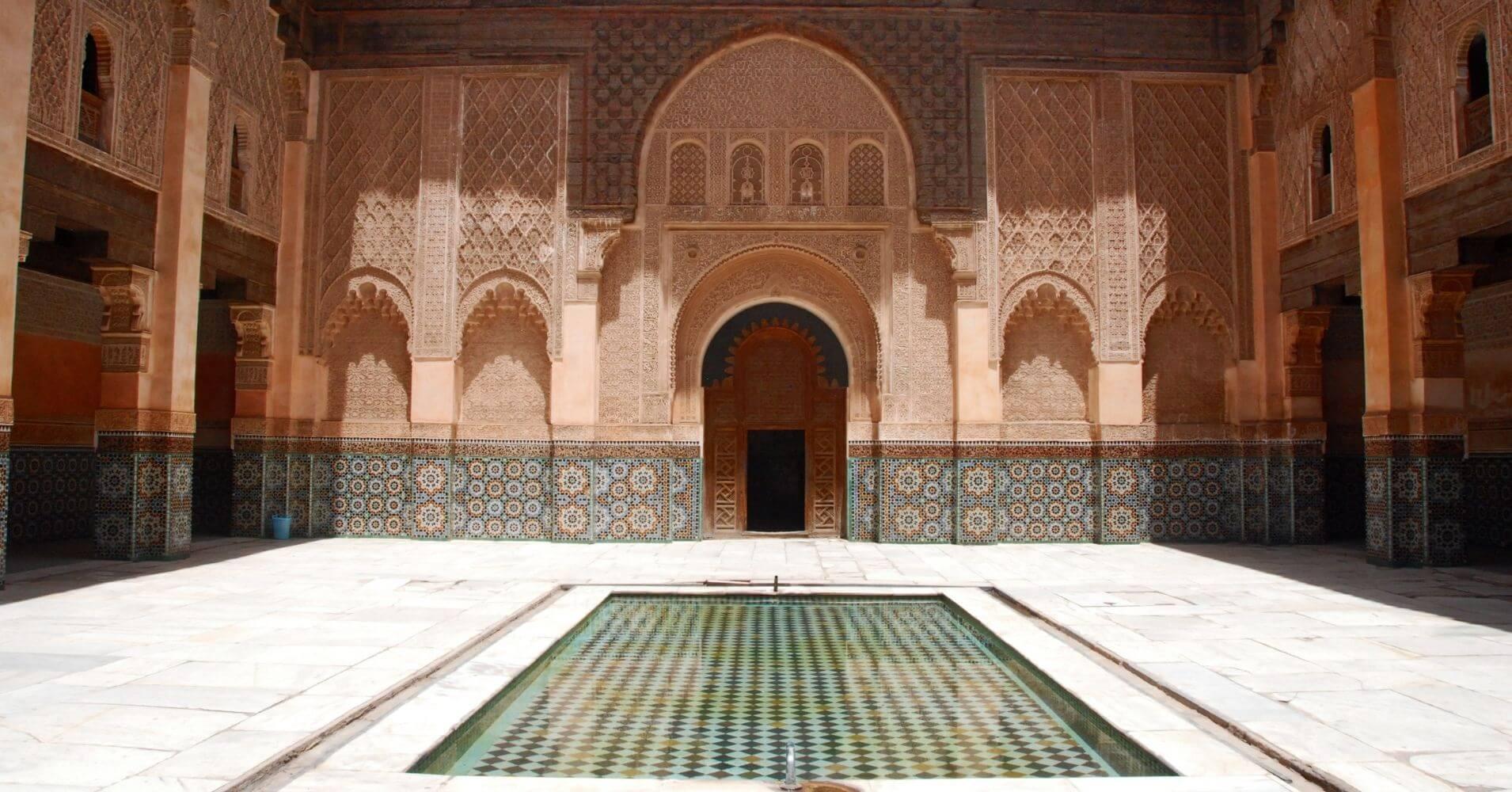 Madrasa de Ben Youssef, Marrakech. Marruecos.