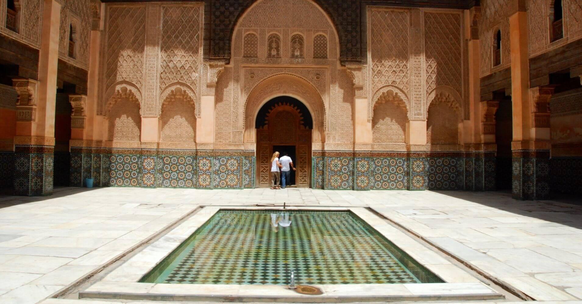Madrasa de Ben Youssef, Marruecos.
