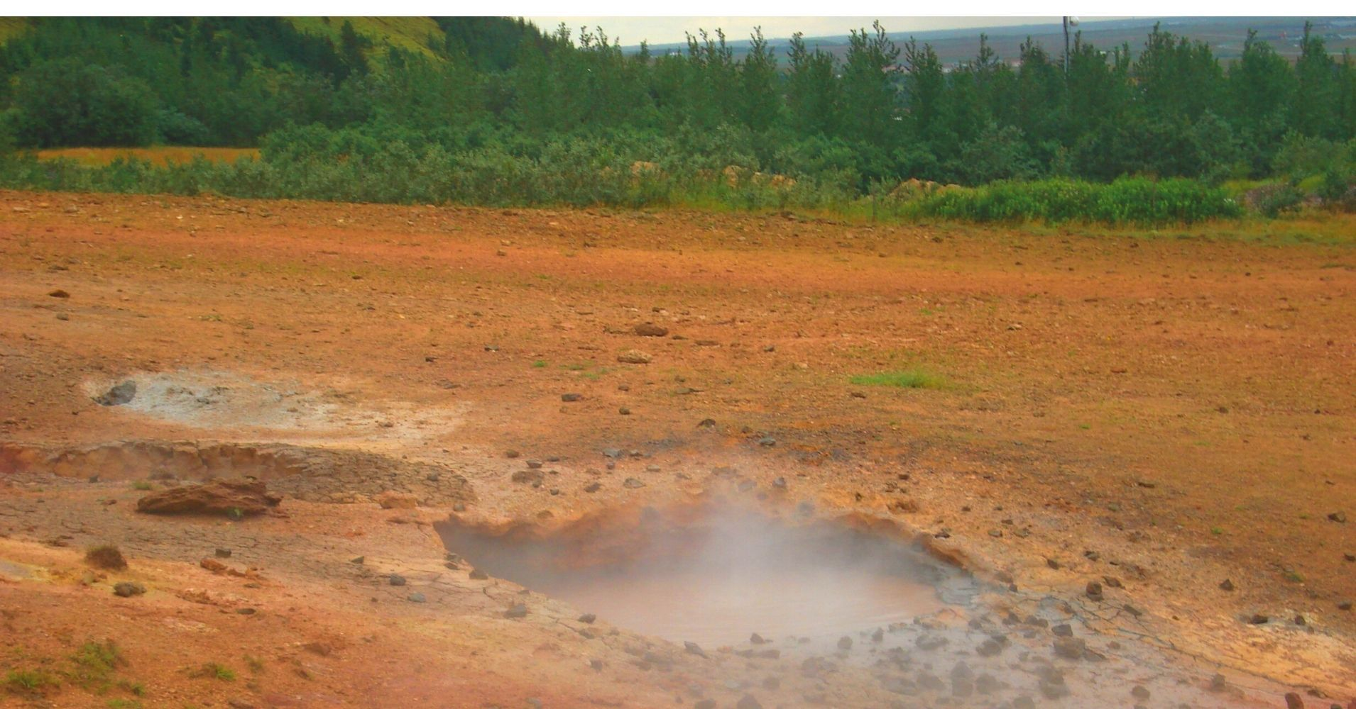 Manantiales Geotérmicos de Leirgedur. Road Trip Iceland.