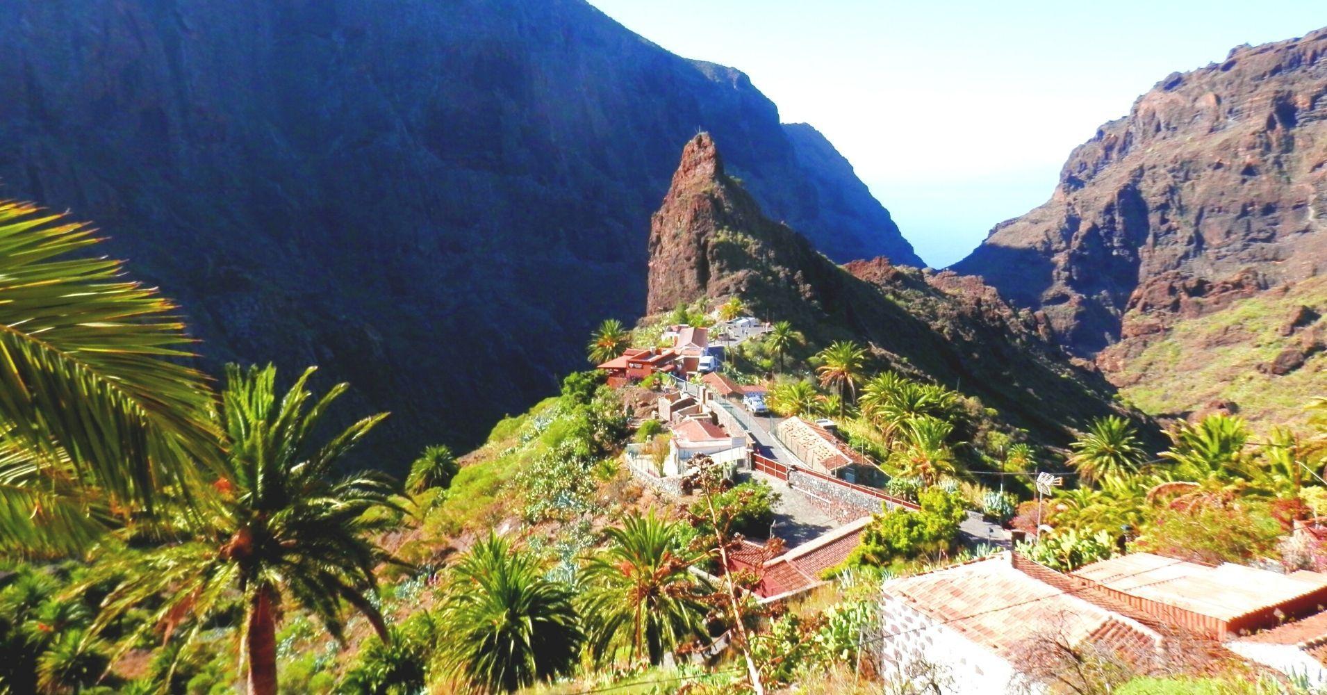 Masca, Islas Canarias. España.