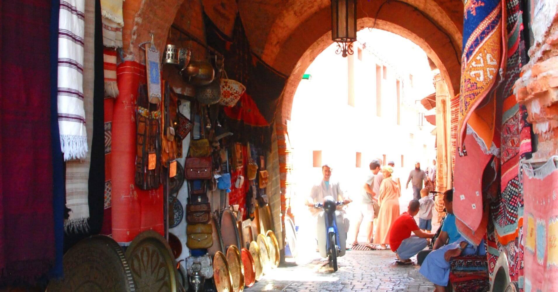 Medina de Marrakech, Marruecos.