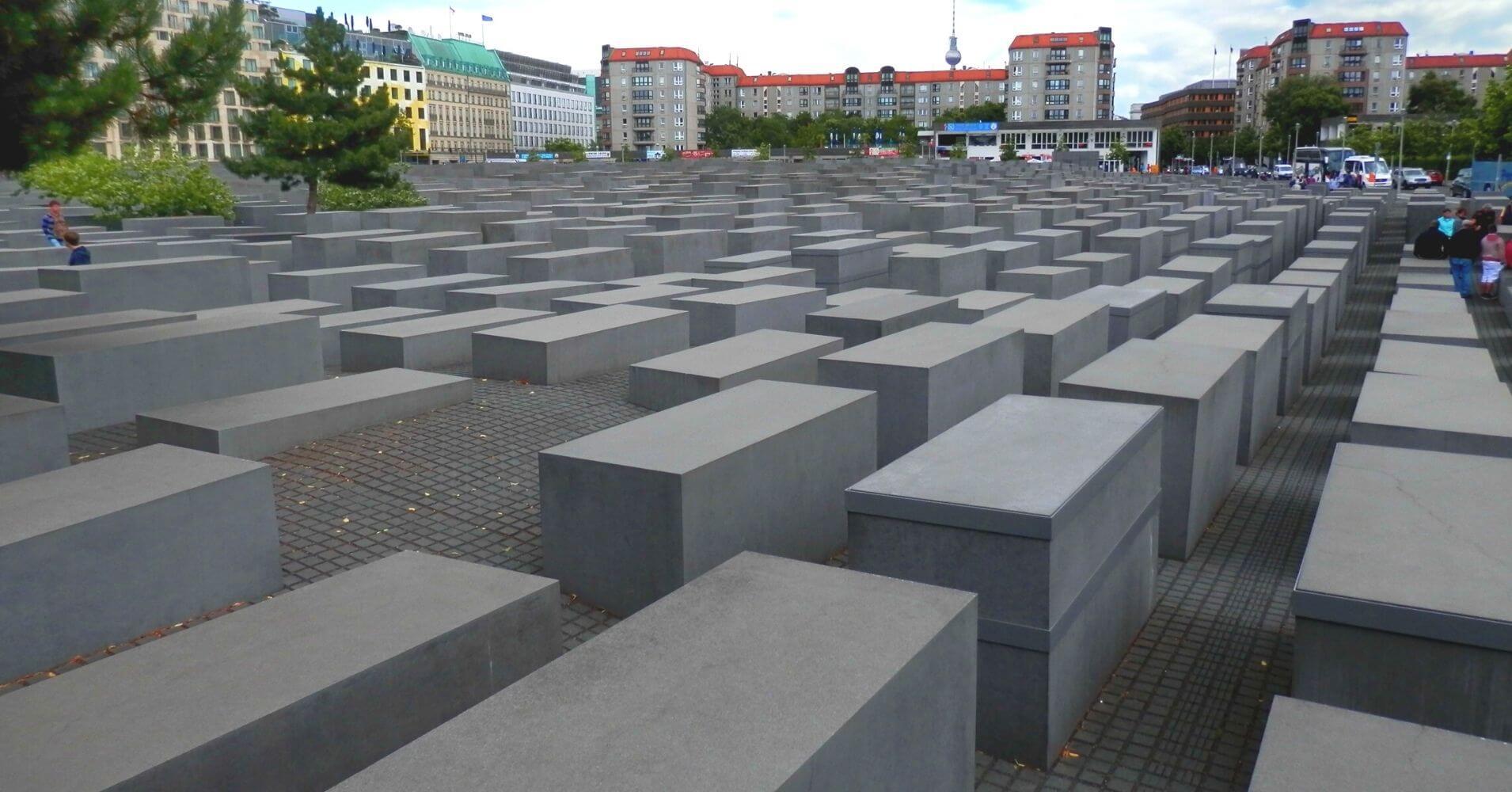 Memorial al Exterminio Judío. Berlín Cicatrices del Telón de Acero. Alemania.