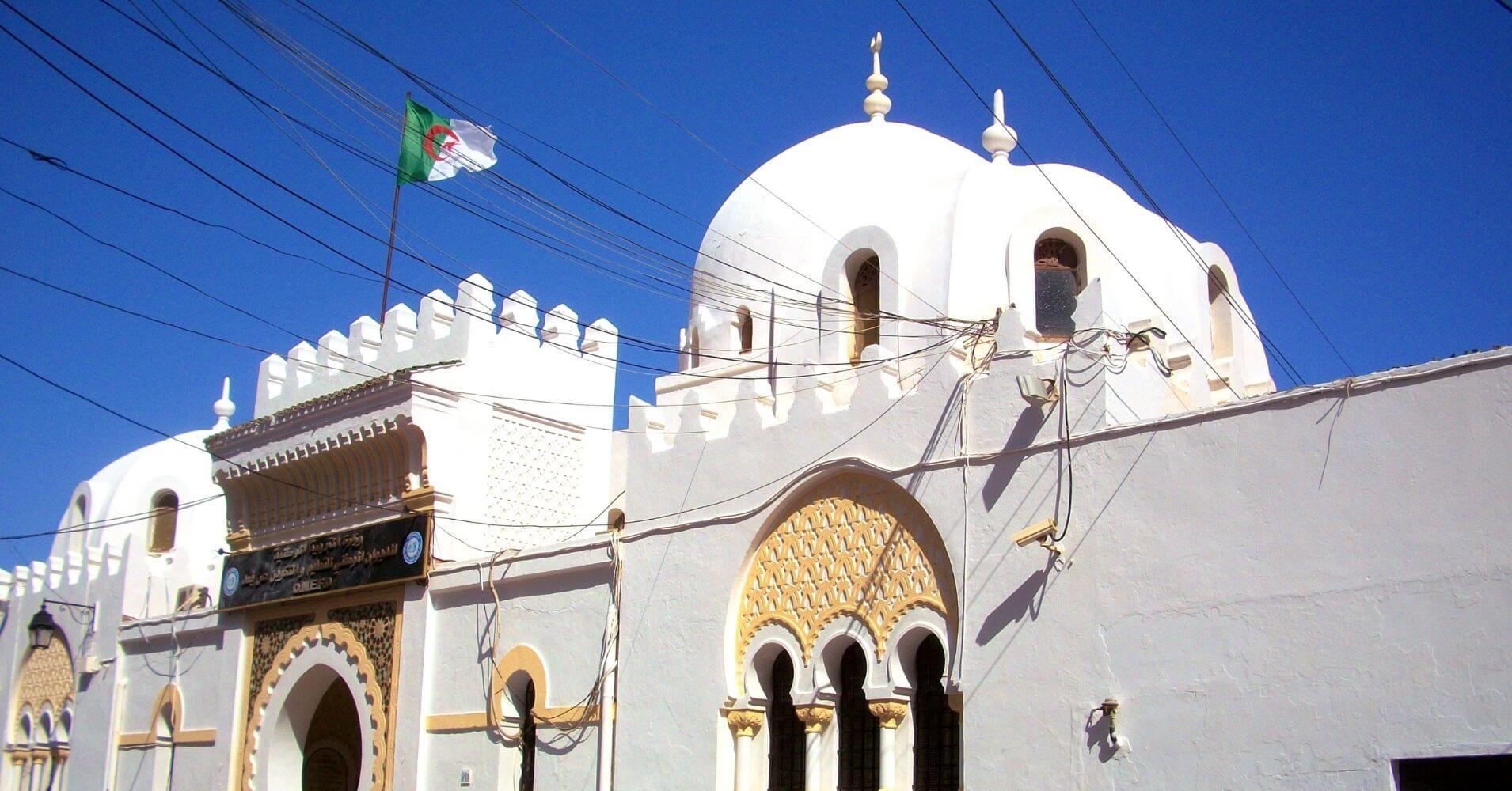 Mezquita de Argel la Blanca. Argelia.