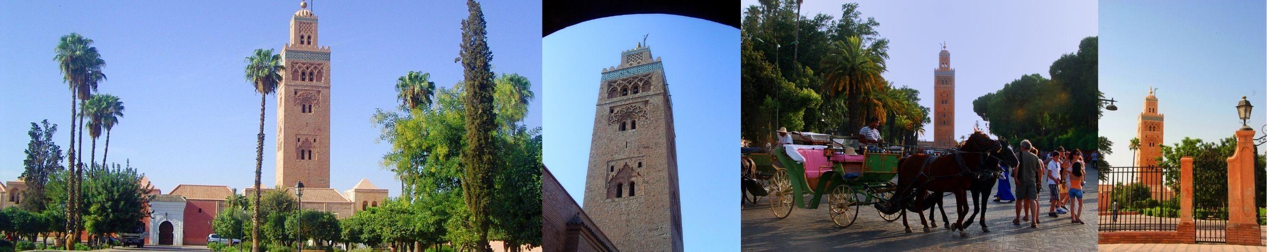 Mezquita de la Koutoubia. Marrakech, Marruecos.