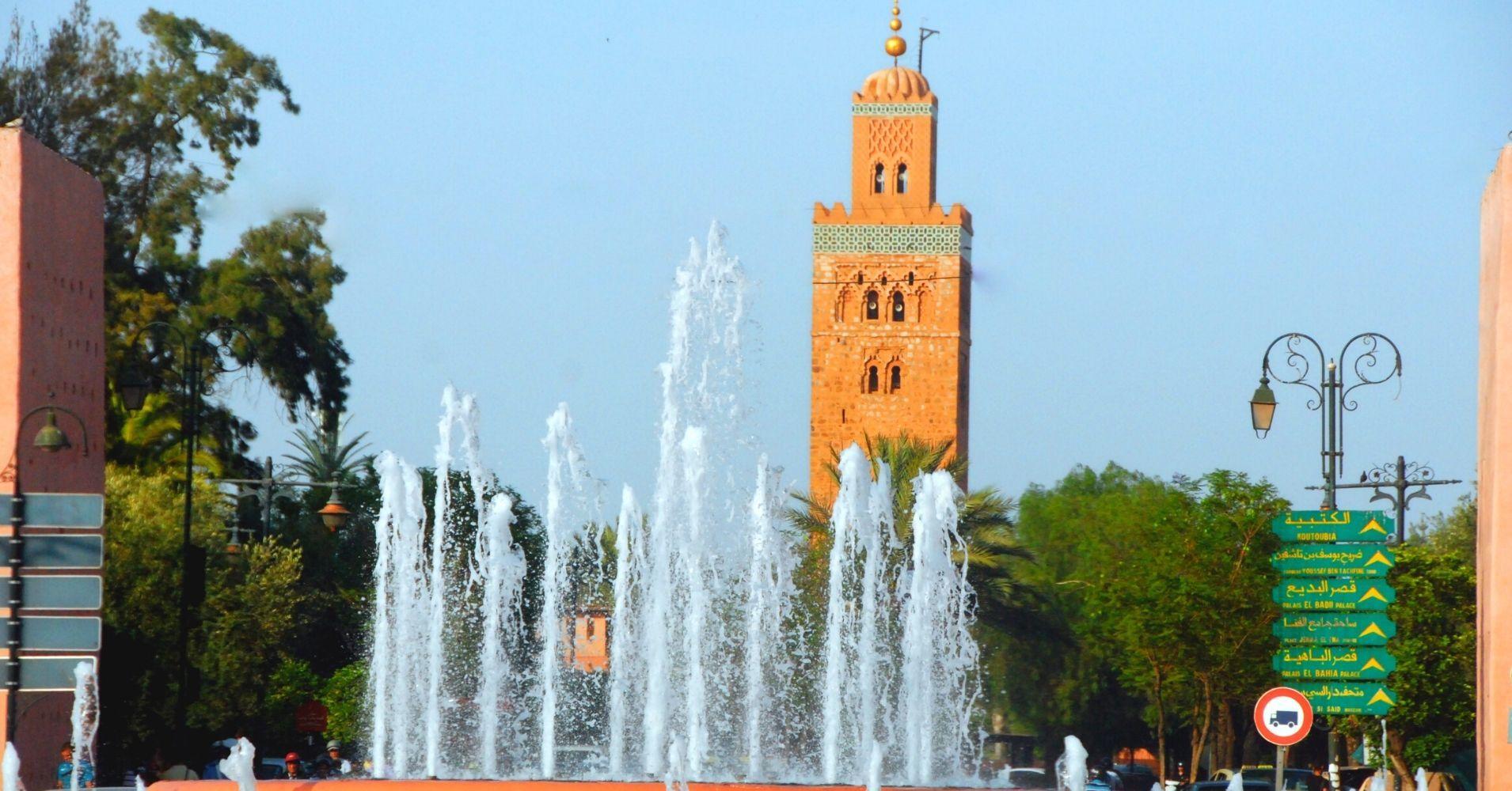 Mezquita de la Kutubia, Marrakech. Marruecos.