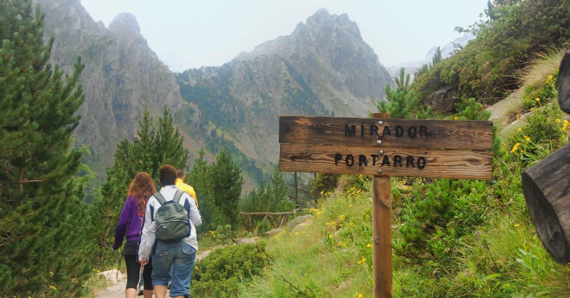 Mirador del Portarro. Parque Nacional de Aigües Tortes. Lérida, Cataluña.