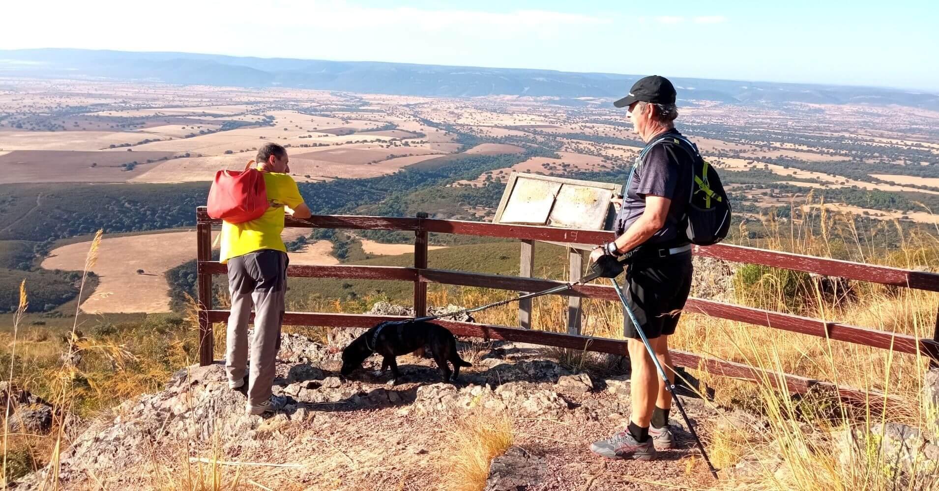 Mirador Paisajístico del Parque Nacional de Cabañeros. San Pablo de los Montes. Toledo, Castilla la Mancha.