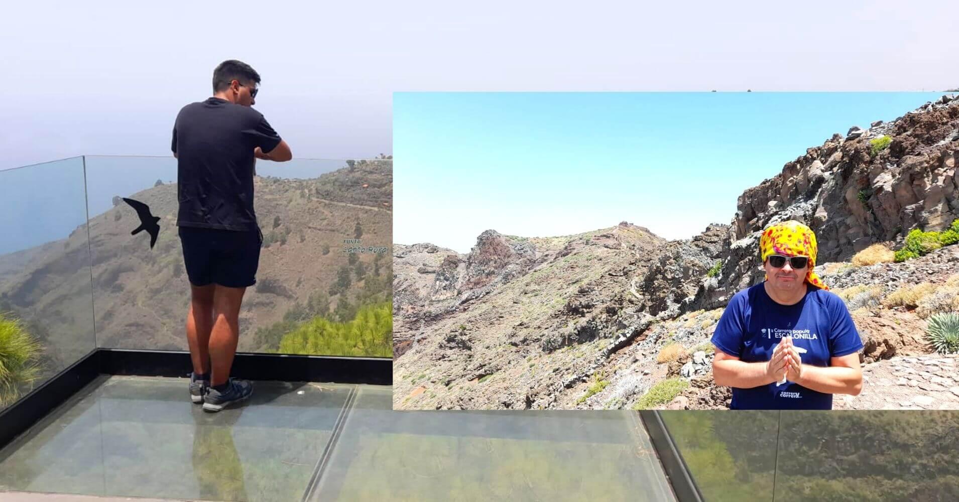 Miradores de la Palma. Islas Canarias.
