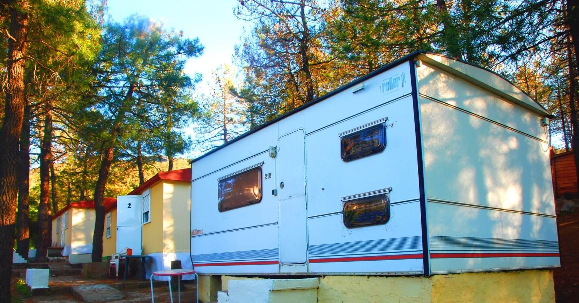 Mobil-Homes Camping Navahermosa La Milagra. Toledo, Castilla La Mancha.