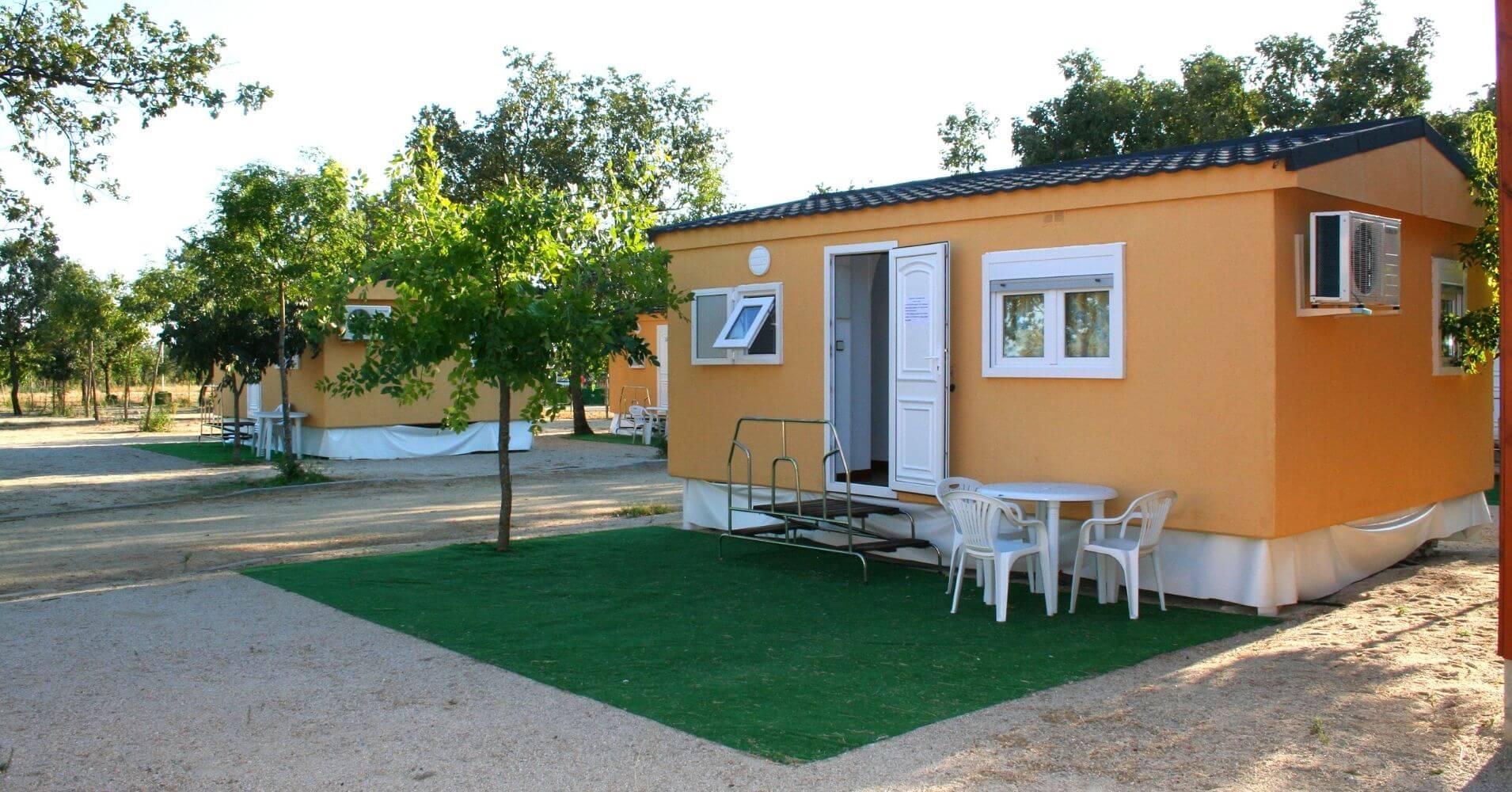 Mobilhome Camping Candeleda. Ávila, Castilla y León.