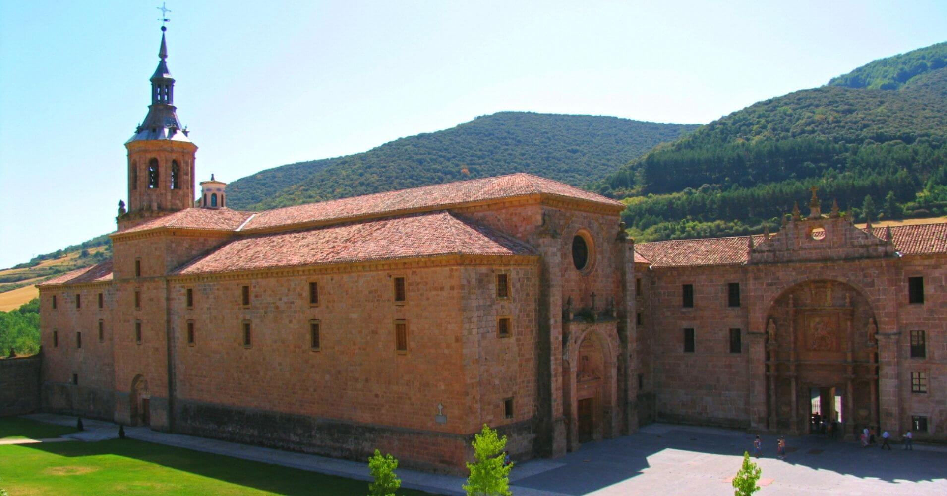 Monasterio de Yuso. La Rioja. España.