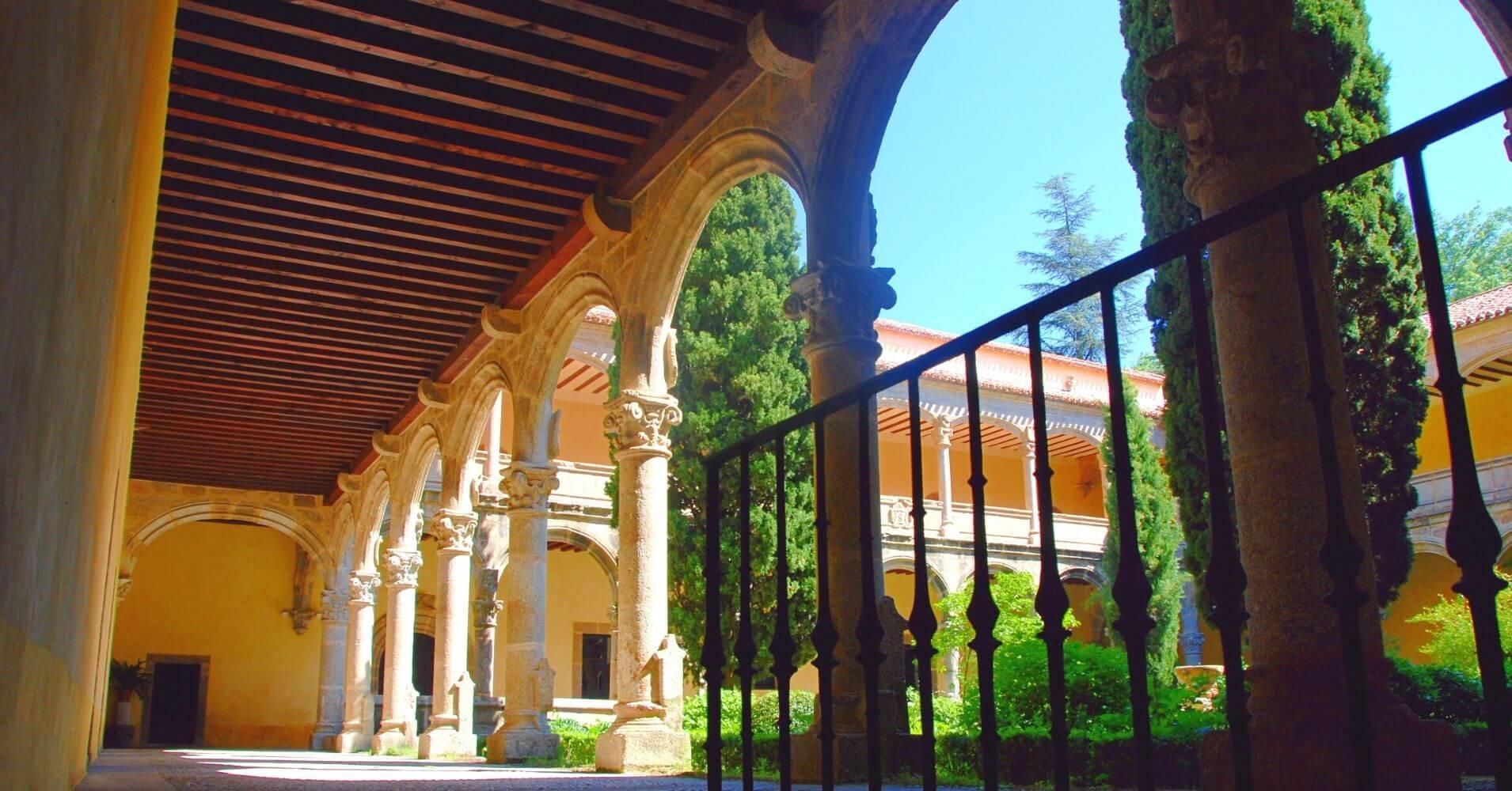 Monasterio de Yuste. Cuacos de Yuste. Cáceres, Extremadura.