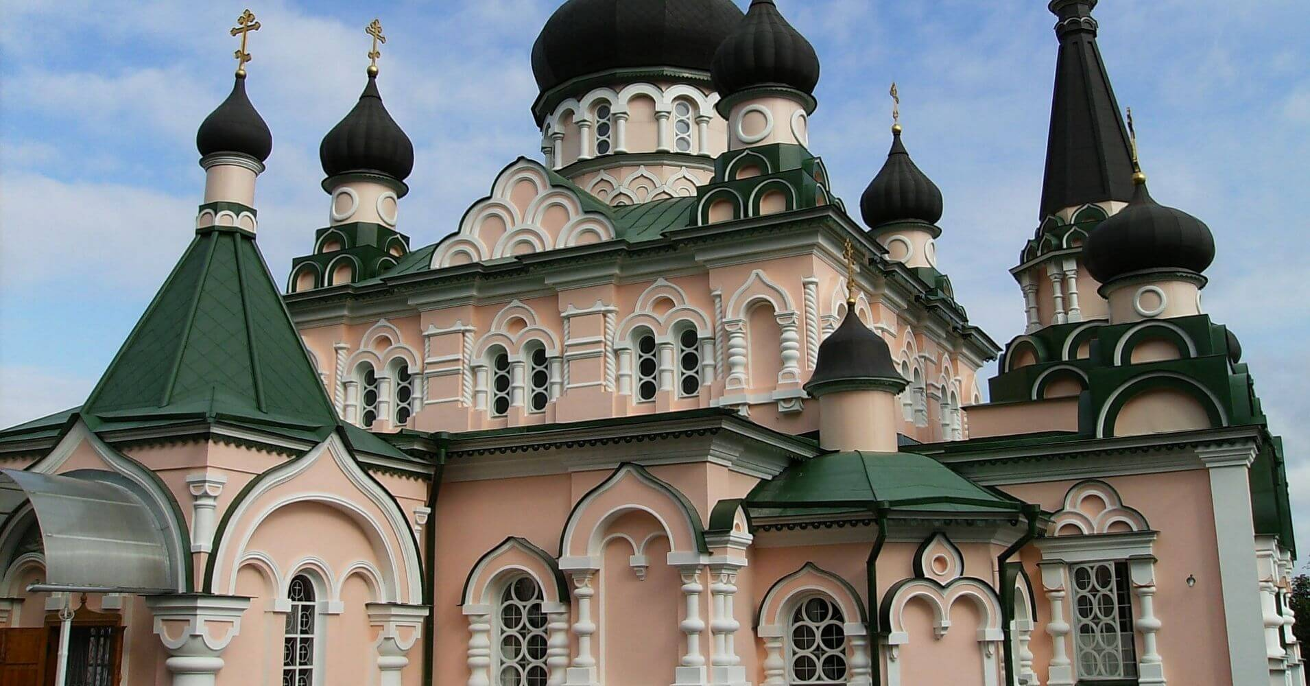 Monasterio St Pokrovsky. Kiev, Ucrania.