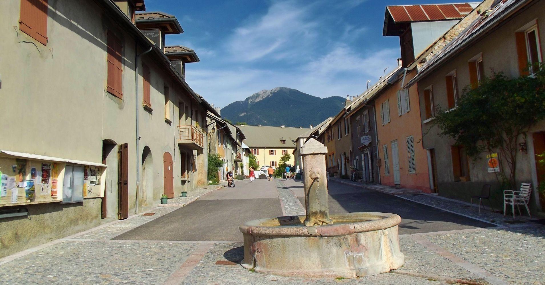 Mont Dauphin Fuerte de Vauban. Altos Alpes. Región Provenza-Alpes-Costa Azul. Francia.