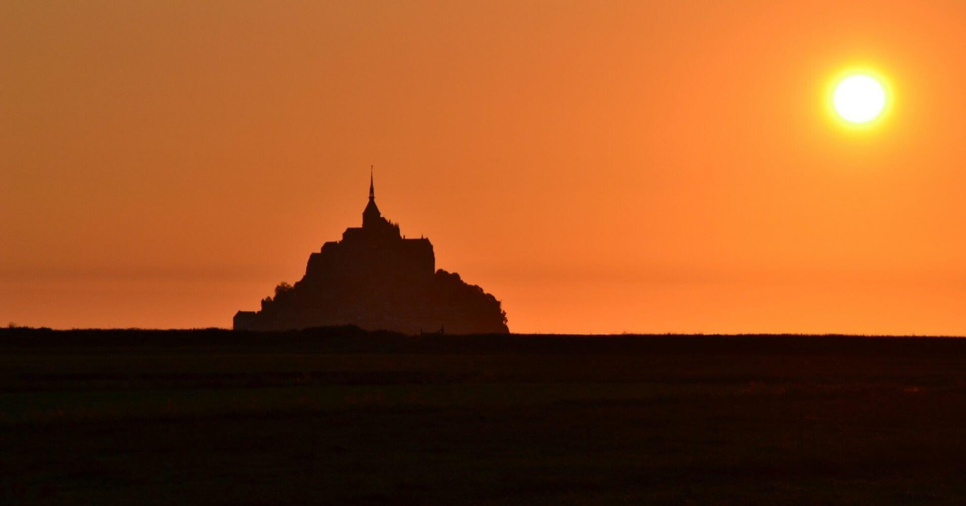 Mont Sanit Michel. Departamento de Mancha. Normandía. Francia.