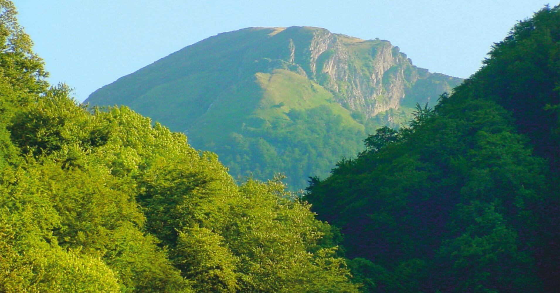 Montañas de Larrau. Pirineos Atlánticos, Nueva Aquitania. Francia.