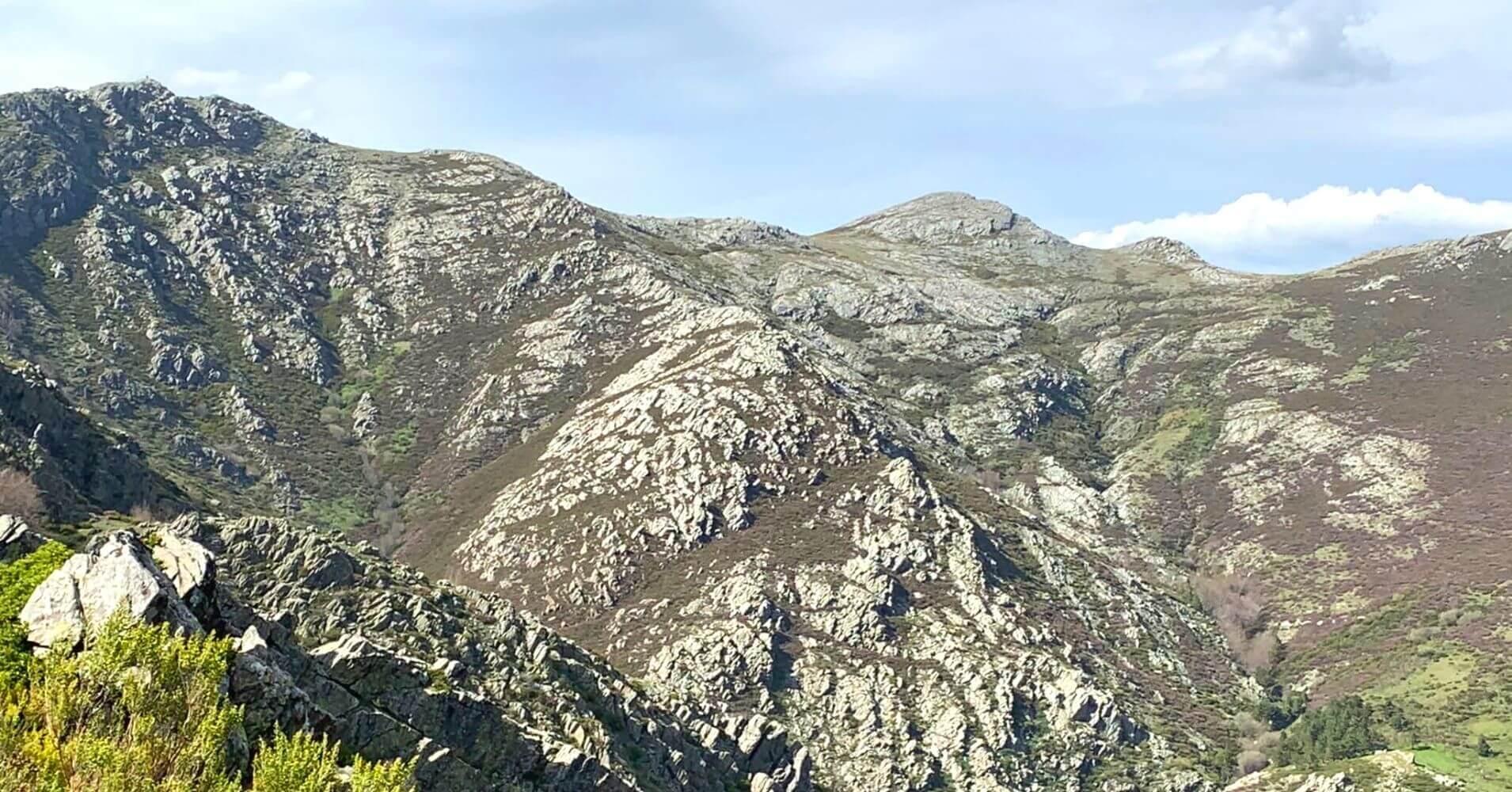 Montañas de la Sierra de Ayllón. Guadalajara, Castilla La Mancha.