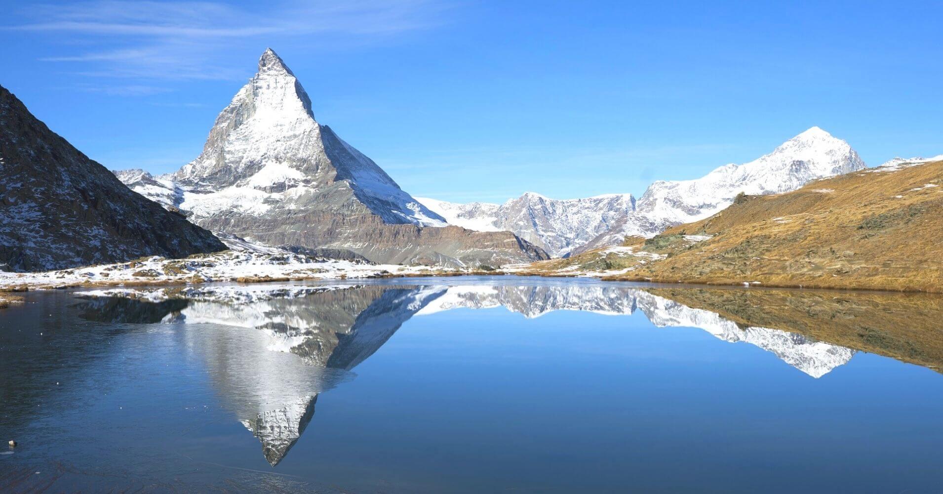 Monte Cervino o Pico Matterhorn. Zermatt, Suiza.