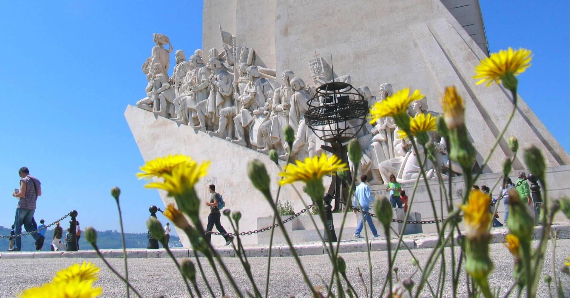 Monumento a los Descubrimientos, Lisboa. Portugal.