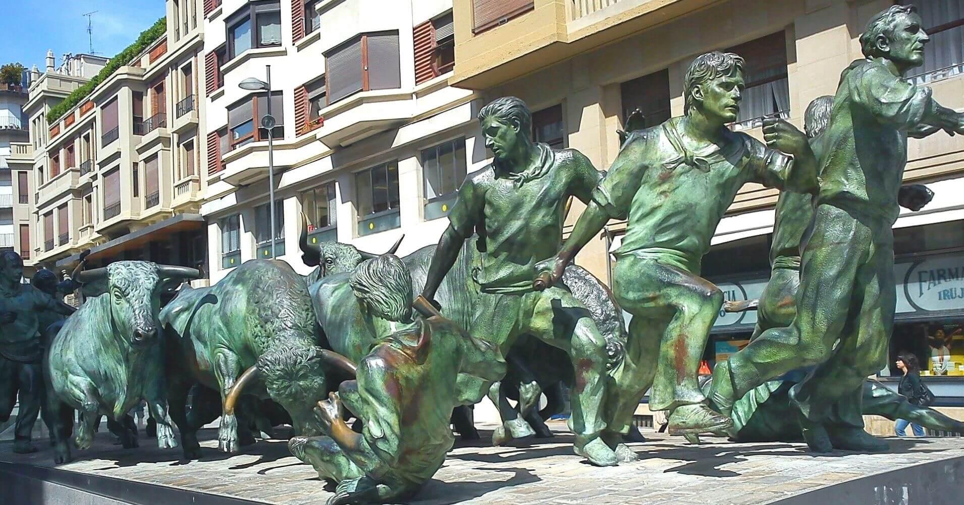 Monumento al Encierro. Pamplona.