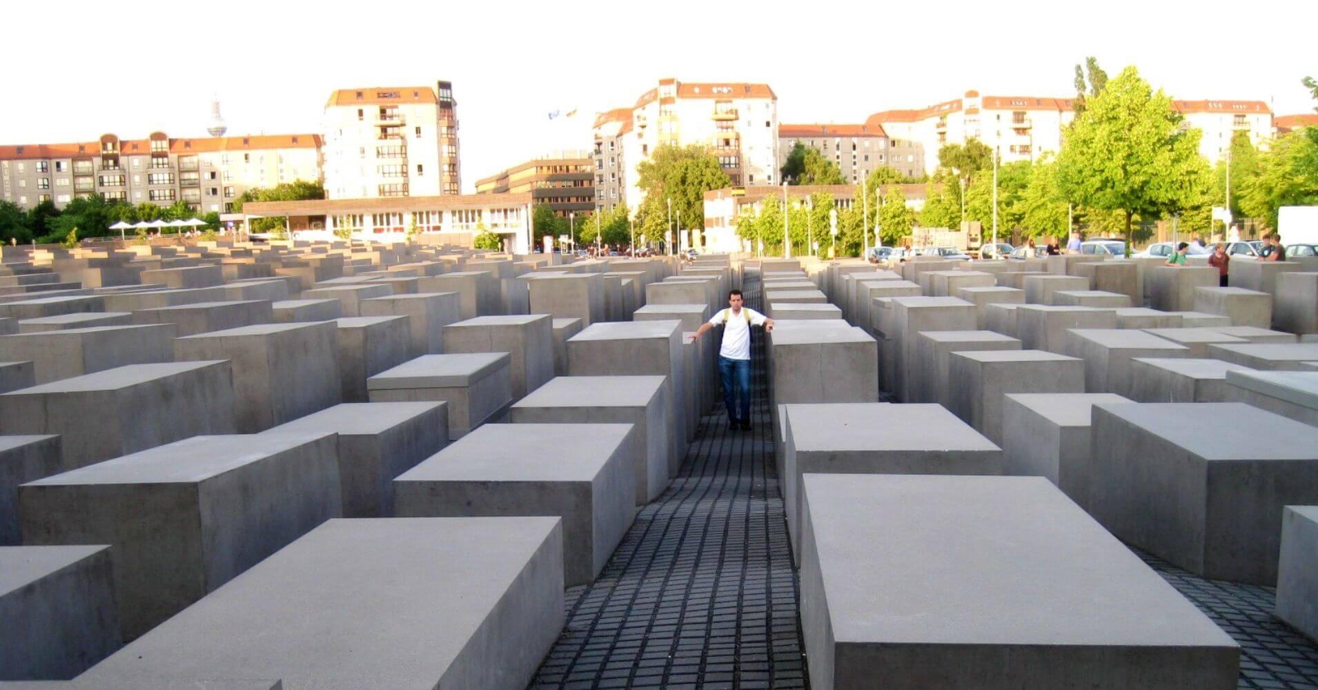 Monumento al Holocausto en Berlín, Alemania.
