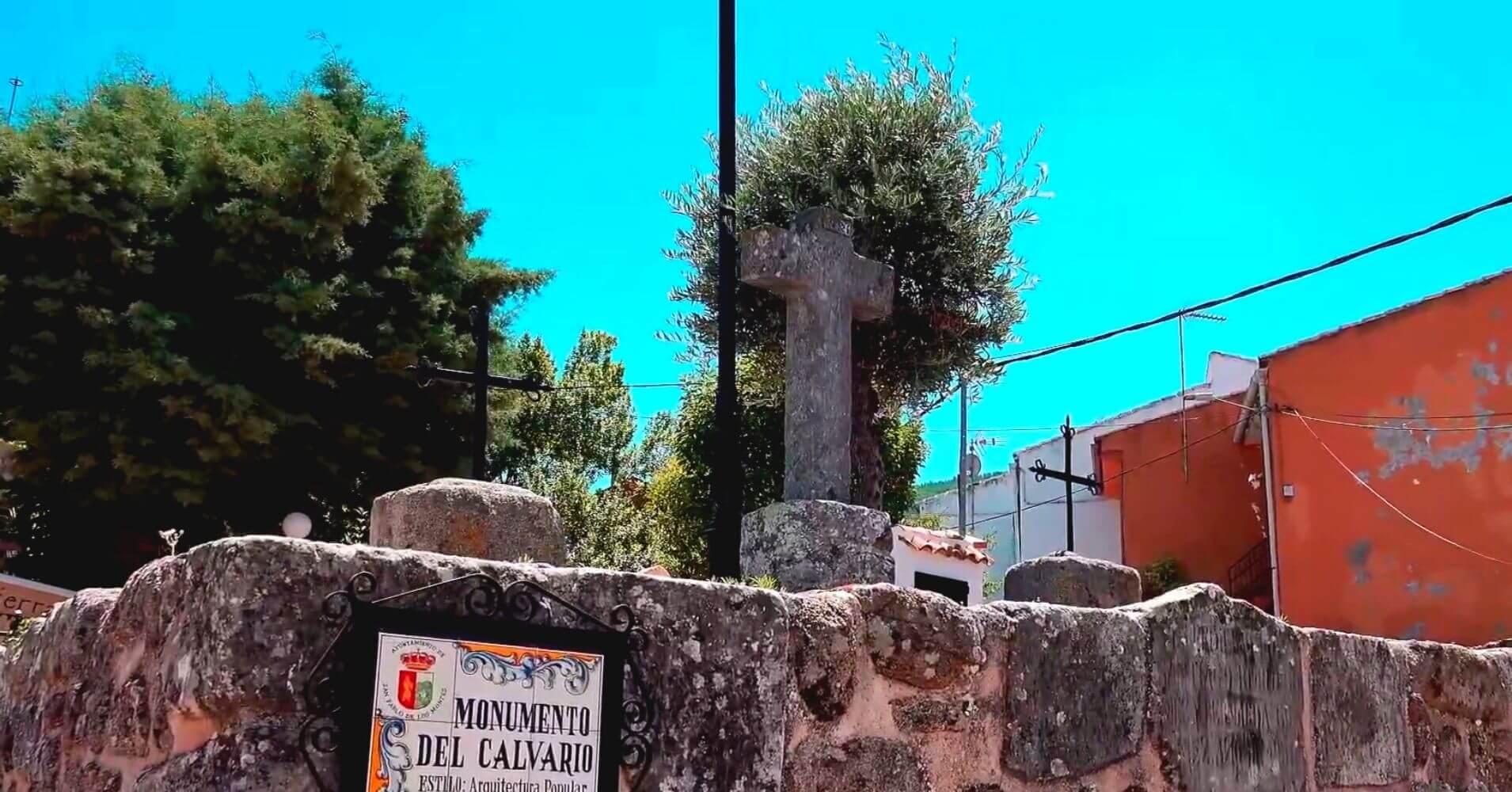 Monumento del Calvario. San Pablo de los Montes. Toledo.