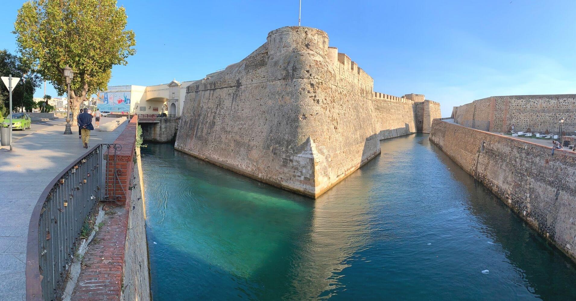 Murallas Reales, Ceuta. España. Foto, Asher Bentolila.