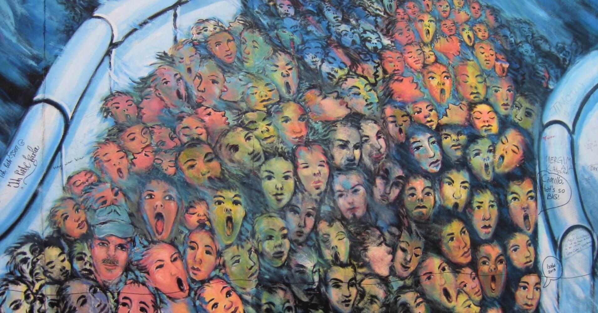 El Muro. East Side Gallery. Alemania.