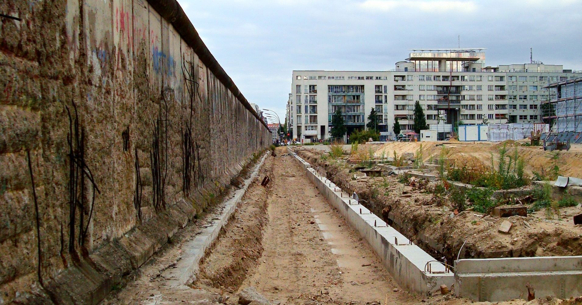 Restos del Muro. Alemania.