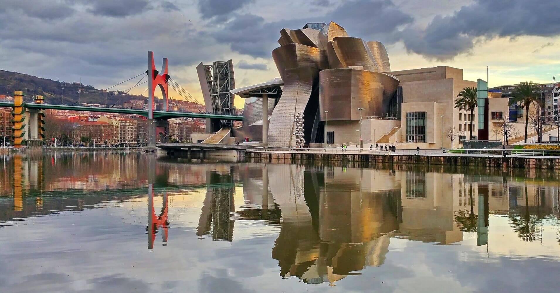 Museo Guggenheim. Bilbao, Vizcaya. Euskadi, País Vasco.