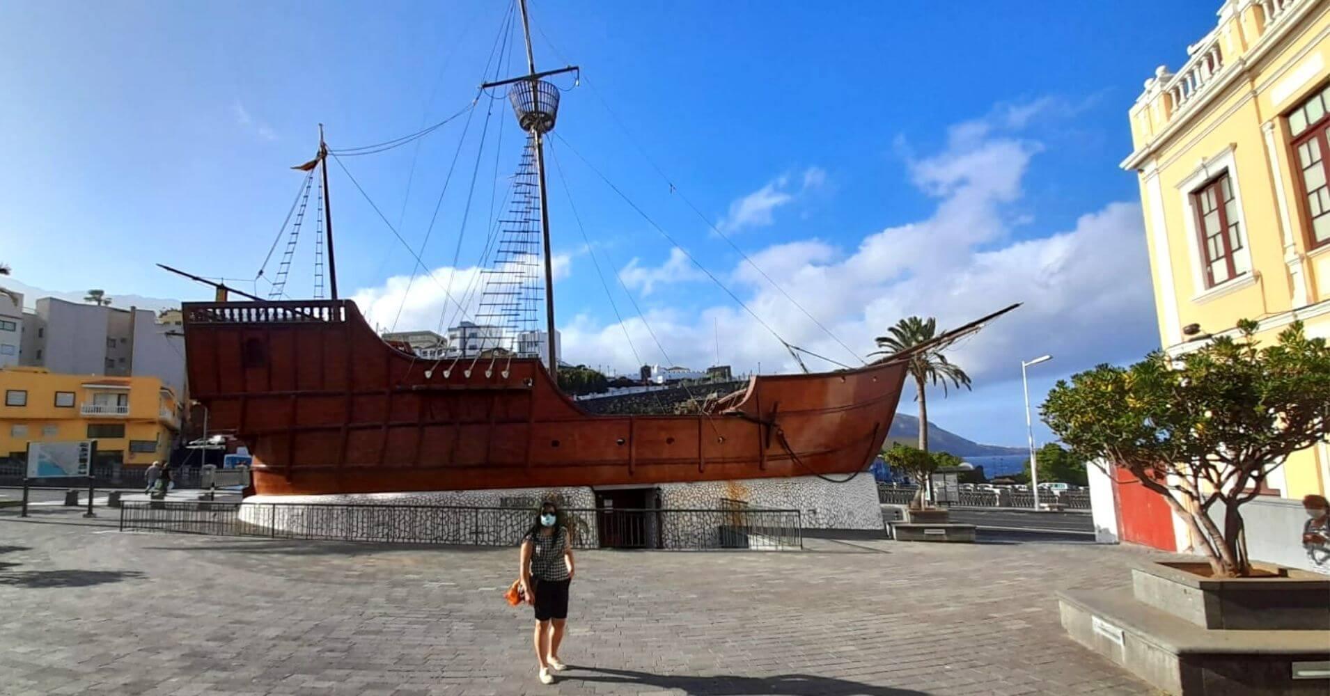 Museo Naval Barco de la Virgen. Santa Cruz de La Palma. Islas Canarias.