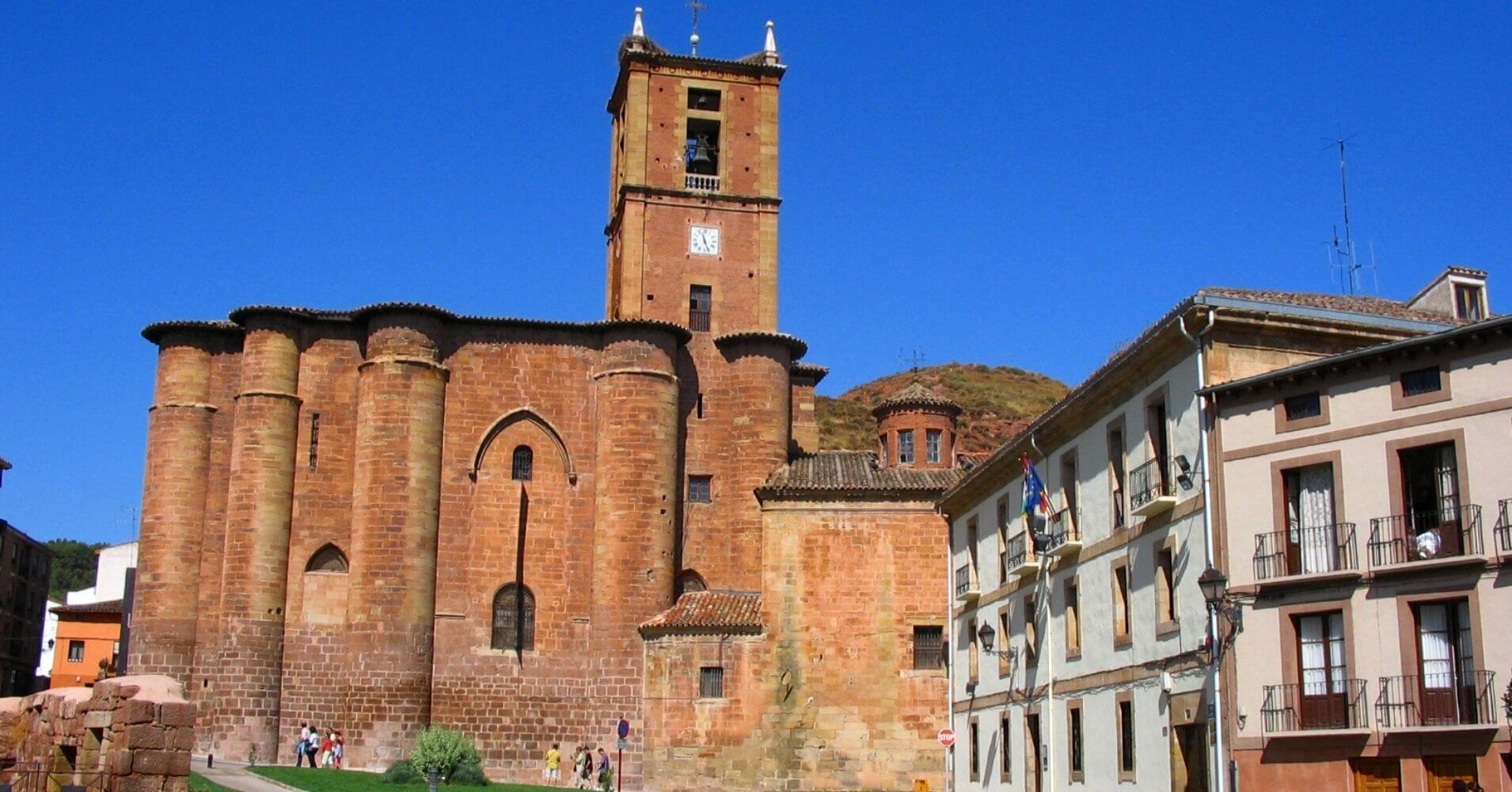 Nájera. Santa María La Real. La Rioja, España.