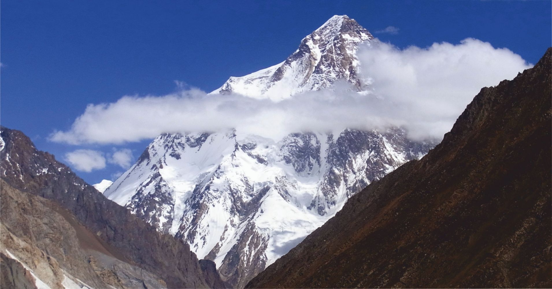Nubes en el K2, Pakistán.