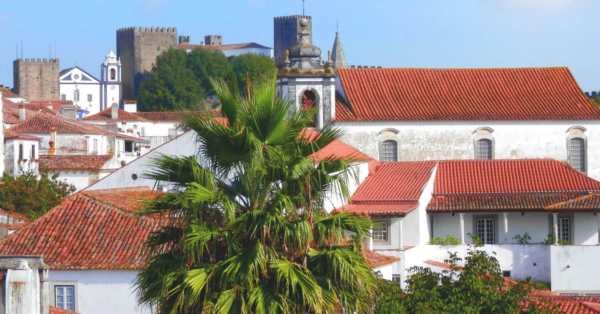 Óbidos, en Portugal.