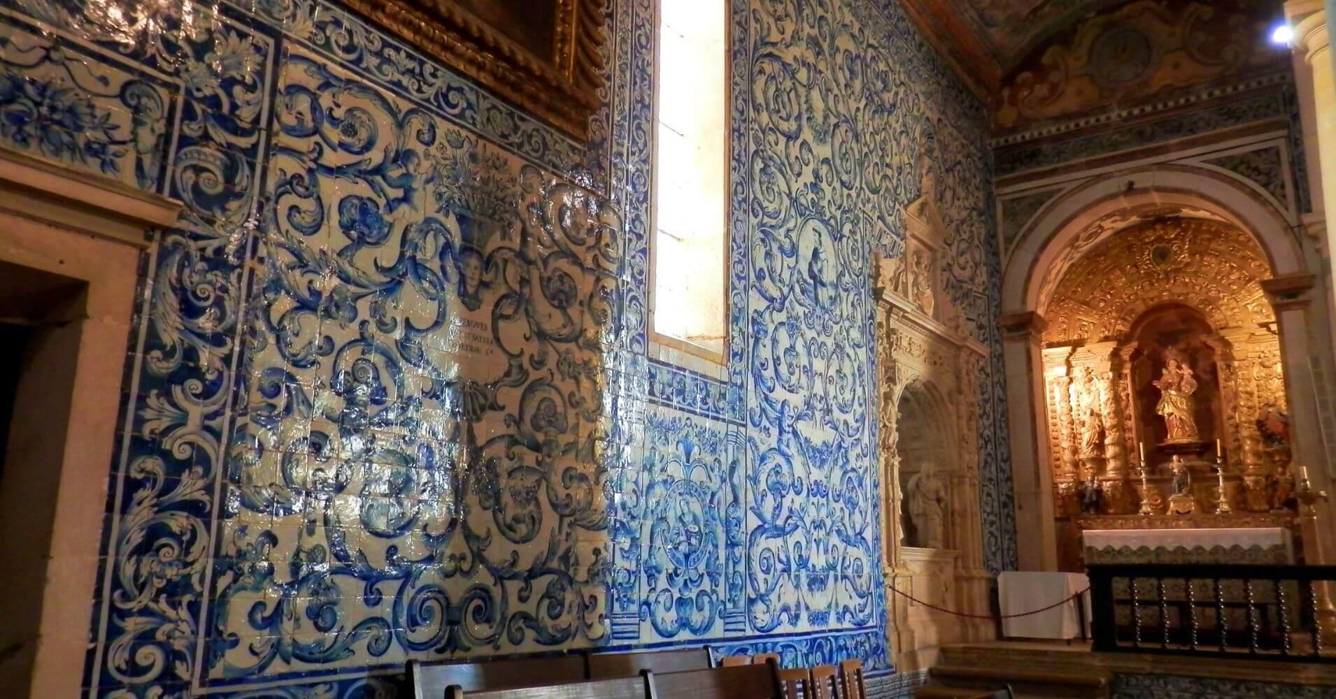 Óbidos Villa de las Reinas en Portugal.